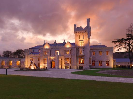 Lough Eske Castle, a Solis Hotel & Spa: Sunset Exterior