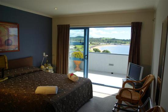 Blue Pacific Apartments Paihia: Living Area