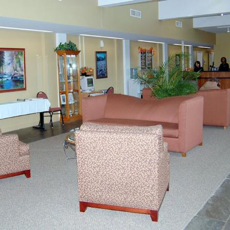 Mountainside Villas: lobby