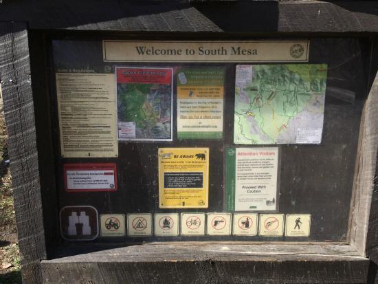 South Mesa Trail