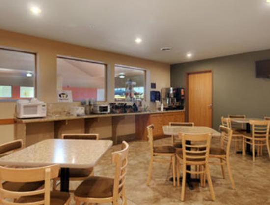 Darlington, วิสคอนซิน: Breakfast Area