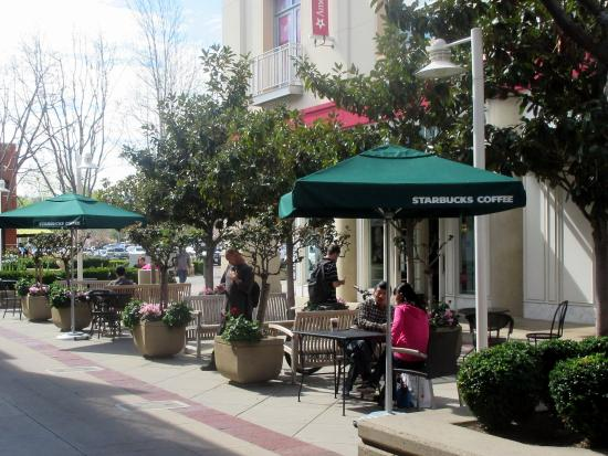 Patio Seating, Starbucks, Stanford Shopping Center, Palo Alto, Ca