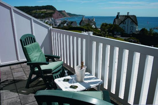 Sidmouth Harbour Hotel - The Westcliff: Bedroom View