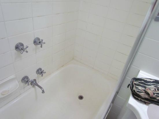 Armadale Serviced Apartments: Overall grottiness of bath / shower