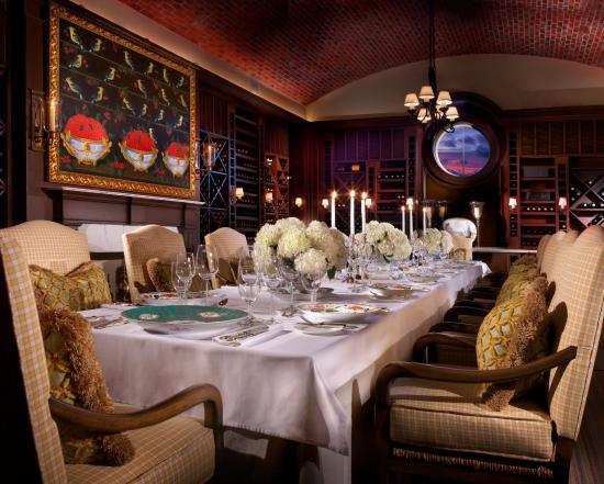Rosewood Bermuda : Wine Room