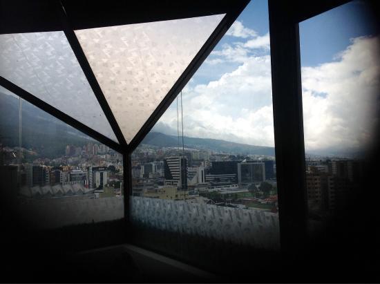 Best Western CPlaza Hotel: Vista desde la suite