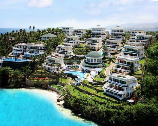 Monaco Suites de Boracay: Aerial View