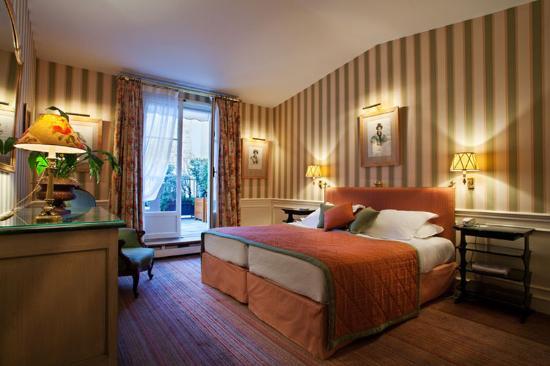 Hotel de l'Abbaye Saint-Germain: Duplex Room