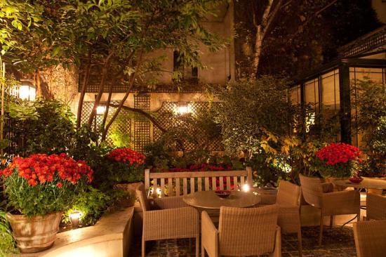 Hotel de l'Abbaye Saint-Germain: Jardin