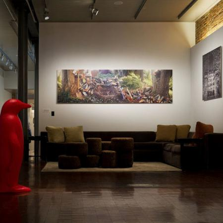 21c Museum Hotel Louisville: Lobby