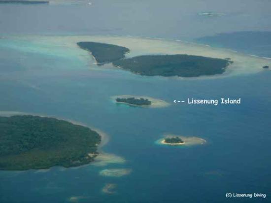 Lissenung Island Resort: Lissenung Aerial View