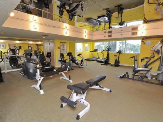 Hidden Dunes Beach & Tennis Resort: Fitness area