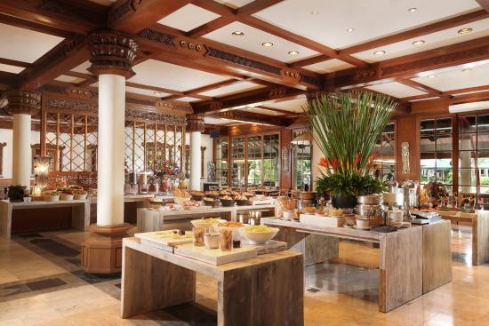 Ayodya Resort Bali: Waterfall Restaurant