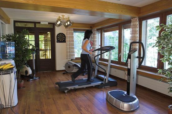 Hotel Walliserhof Leukerbad Fitness