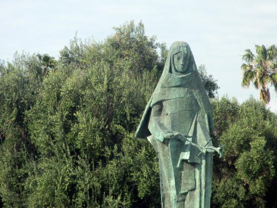 Statue of Saint Clare, Santa Clara, Ca
