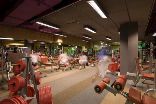 Courtyard Madrid Princesa : Gym at Husa Princesa Madrid