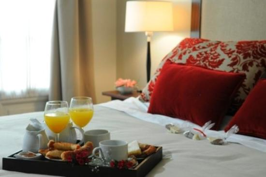 Duque Hotel Boutique & Spa : Breakfast in the room