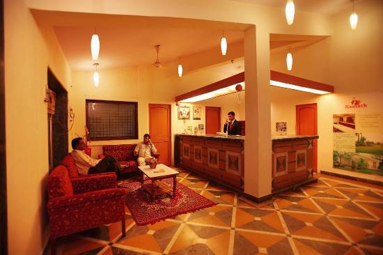 Kamath Residency Nature Resort: Reception Lobby