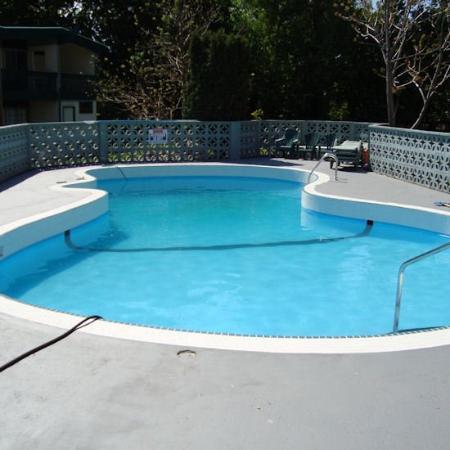 Tiki Village Motor Inn: CSetting Up The Pool For Summer