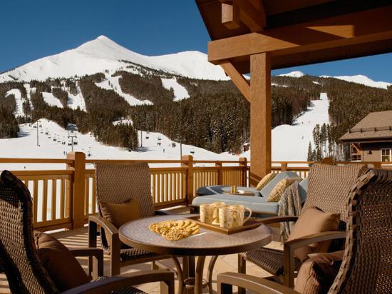 One Ski Hill Place, A RockResort: OSHPBalcony Winter