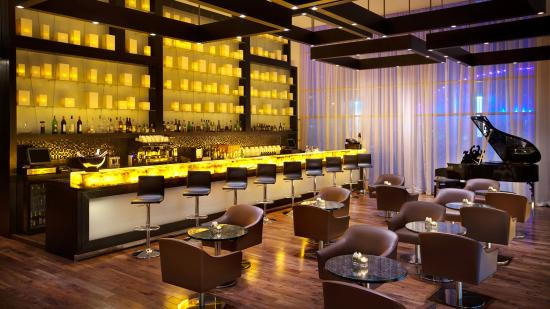 Kempinski Residences & Suites, Doha: The Lounge bar