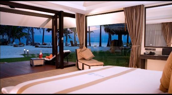 Nikki Beach Resort Koh Samui: Nikki Beach Front Room View