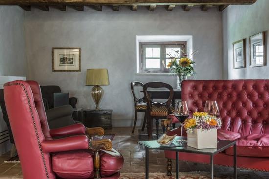 Villa Armena Relais: Sitting Area