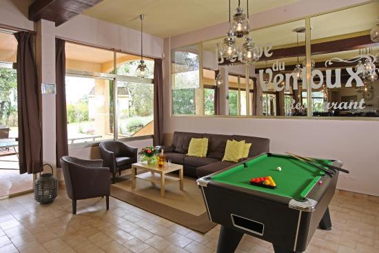 Hotel Le Logis du Chateau : Vaizon Bar RD