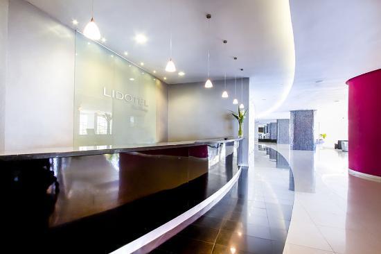 LIDOTEL Hotel Boutique Paraguana: Lidotel Paraguana Reception Desk