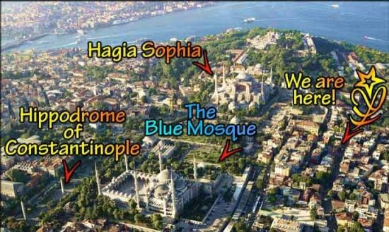 Star Hotel Istanbul: Attractions
