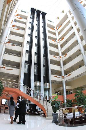 Hotel Intercontinental-Addis: Lobby