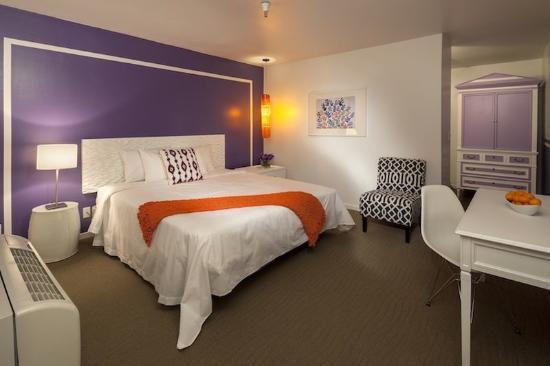 Aqua Soleil Hotel & Mineral Water Spa: Aqua Soleil Guest Room King Lavenderv