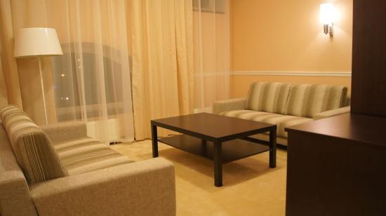 Eugene Hotel: VIP-Living room