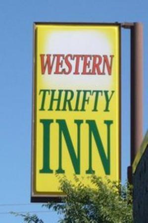 Western Thrifty Inn: Sign