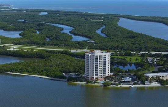 Lovers Key Resort: Aerial South View