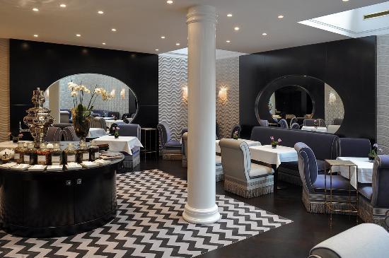 Hotel Topazz: Restaurant