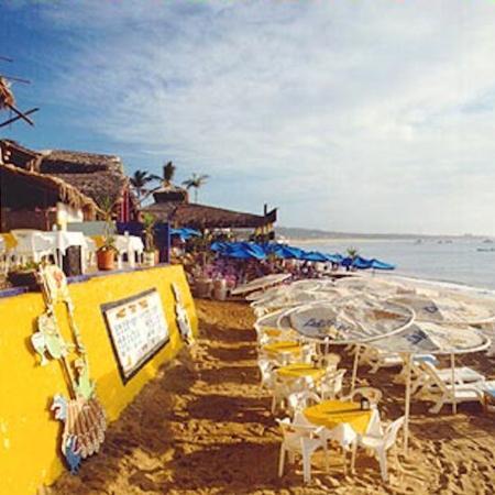 Hotel Mar de Cortez : Beach Grill
