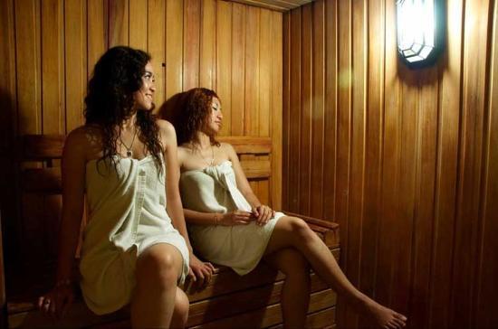 Pekanbaru, Indonesia: Spa Sauna