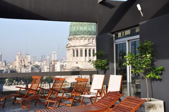 Uno Buenos Aires Suites: Foto Terraza Facilities