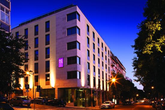 Neya Lisboa Hotel: Exterior view