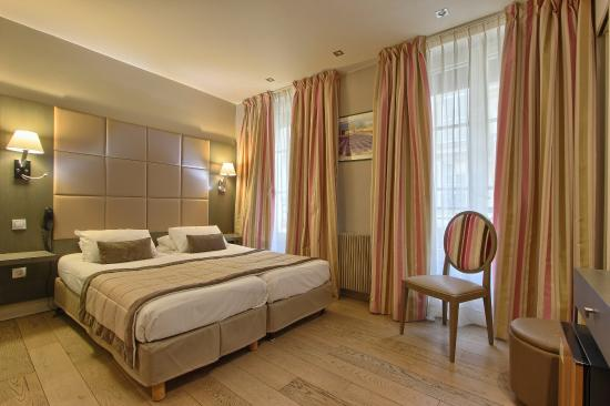 Hotel Villa Margaux Opera Montmartre : room rose
