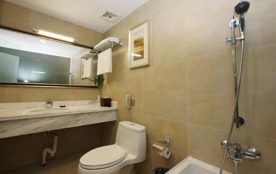Swiss-Belhotel Hefei: Bathroom