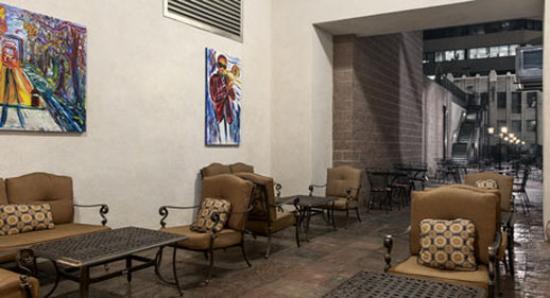 The Mining Exchange, A Wyndham Grand Hotel & Spa: European Courtyard
