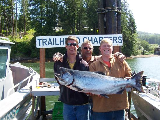 Trailhead Resort: Chinook Salmon