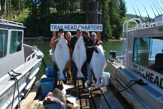 Trailhead Resort: Pacific Halibut