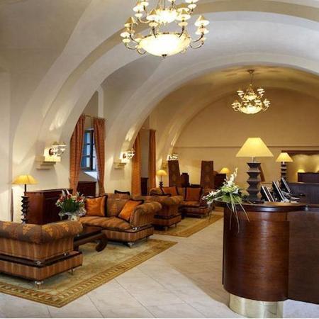 Lindner Hotel Prague Castle: Lobby