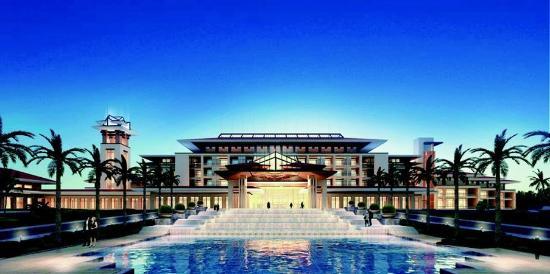 Haitang Bay Gloria Resort Sanya: Exterior Facade