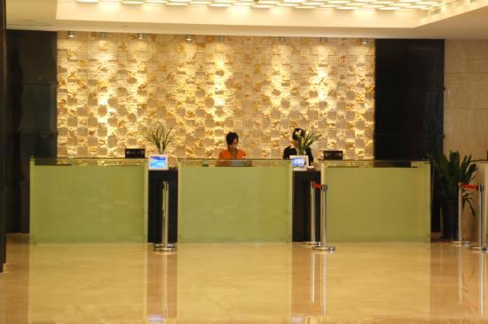 BEST WESTERN Park Hotel Xiamen: Front Desk
