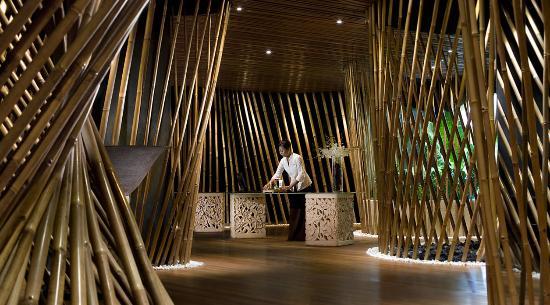 Kupu Kupu Jimbaran & Bamboo Spa by L'Occitane: Bamboo Spa Lobby