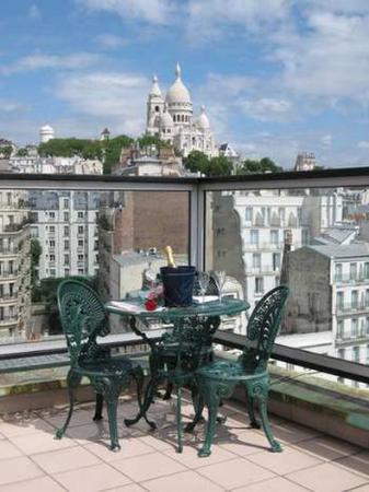 Hotel Carlton's: Terrace
